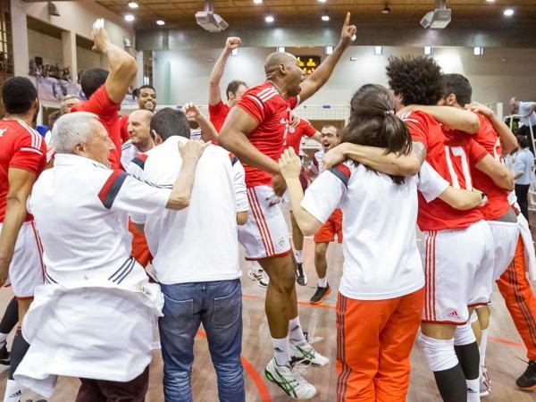 Voleibol: Benfica vence gregos na 1ª mão dos «quartos» da Taça Challenge