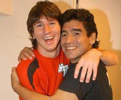 Maradona: «Messi nunca perde a bola, merece ser comparado comigo»