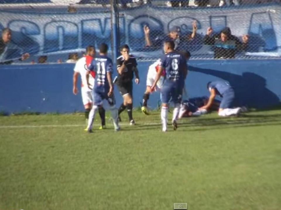 Argentina  futebol suspenso após morte de jogador  9a776fddb1755