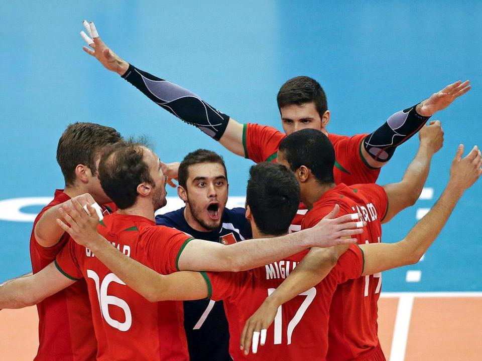 Voleibol: Portugal vence na Croácia a pensar no Europeu