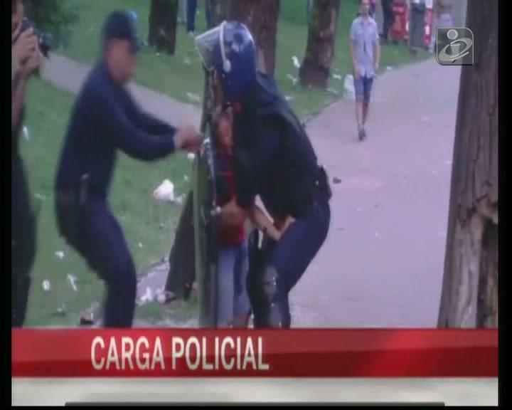 Agressões: subcomissário descarta força excessiva em Guimarães