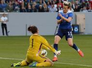 Estados Unidos goleia o México em futebol feminino