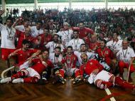 Hóquei em patins: Benfica (LUSA/ Tiago Petinga)