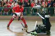 Hóquei em patins: Benfica-Sporting (LUSA/ Tiago Petinga)