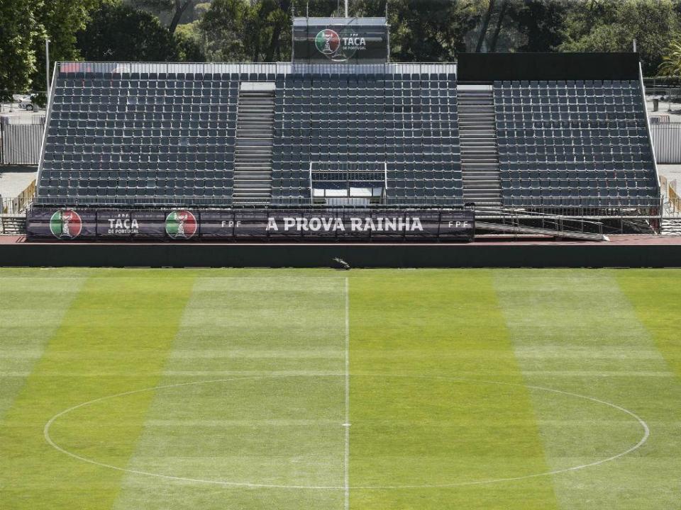 Taça Portugal: Jamor sem conferências de antevisão dos treinadores
