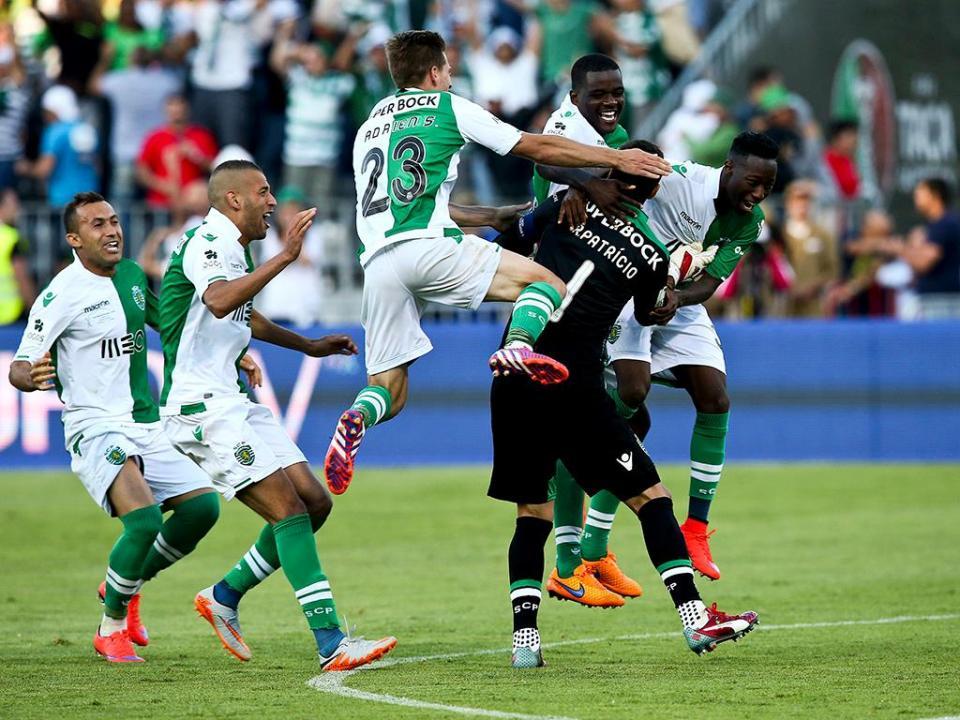 Taça de Portugal: Slimani eleito o homem do jogo
