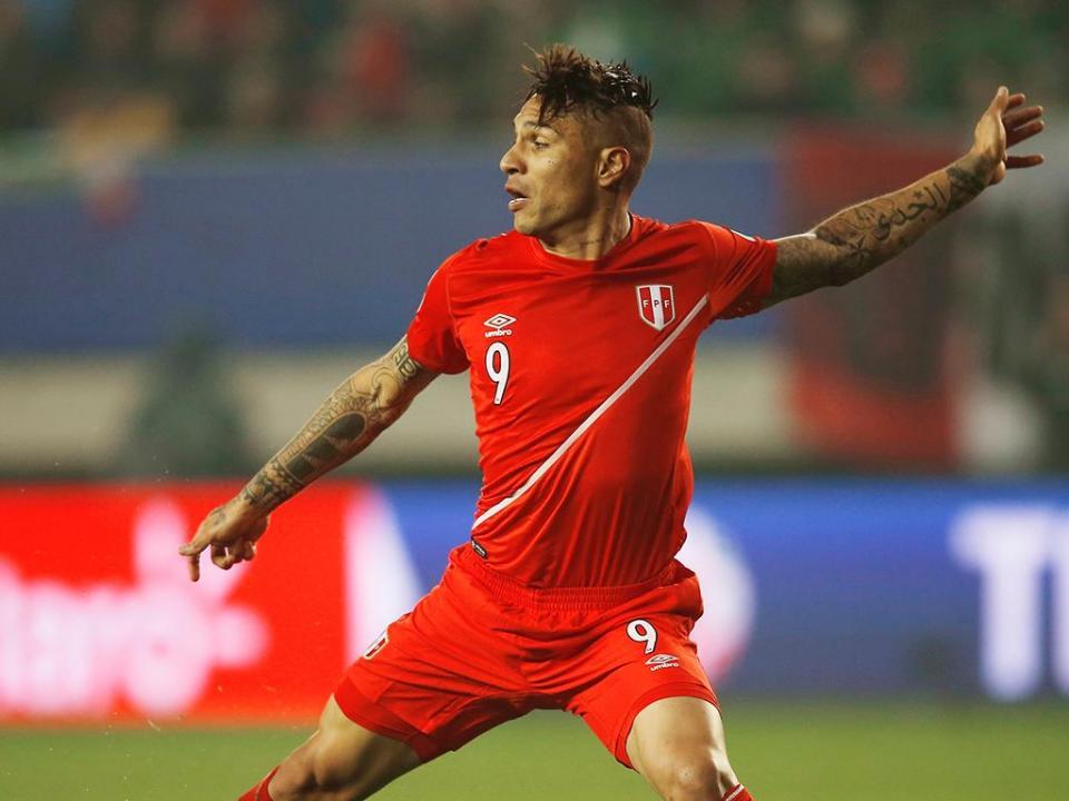 Mundial 2018: rivais do Peru pedem à FIFA para deixar Guerrero jogar