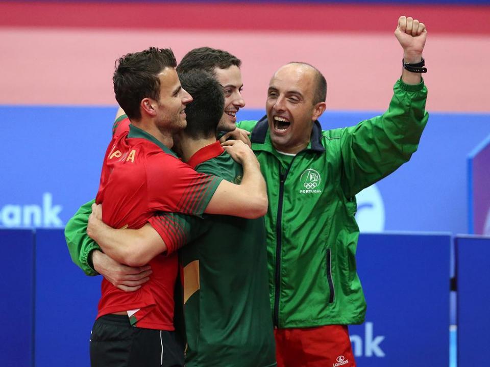 Ténis de mesa: Portugal está nas meias-finais do Europeu