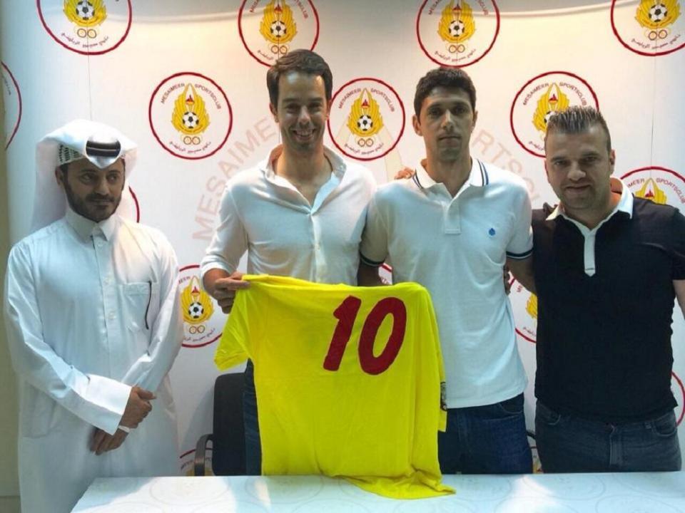 Hélio Pinto apresentado no Al-Mesaimeer do Qatar