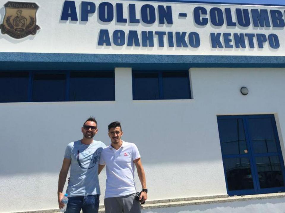 Sp. Braga: João Pedro assinou pelo Apollon