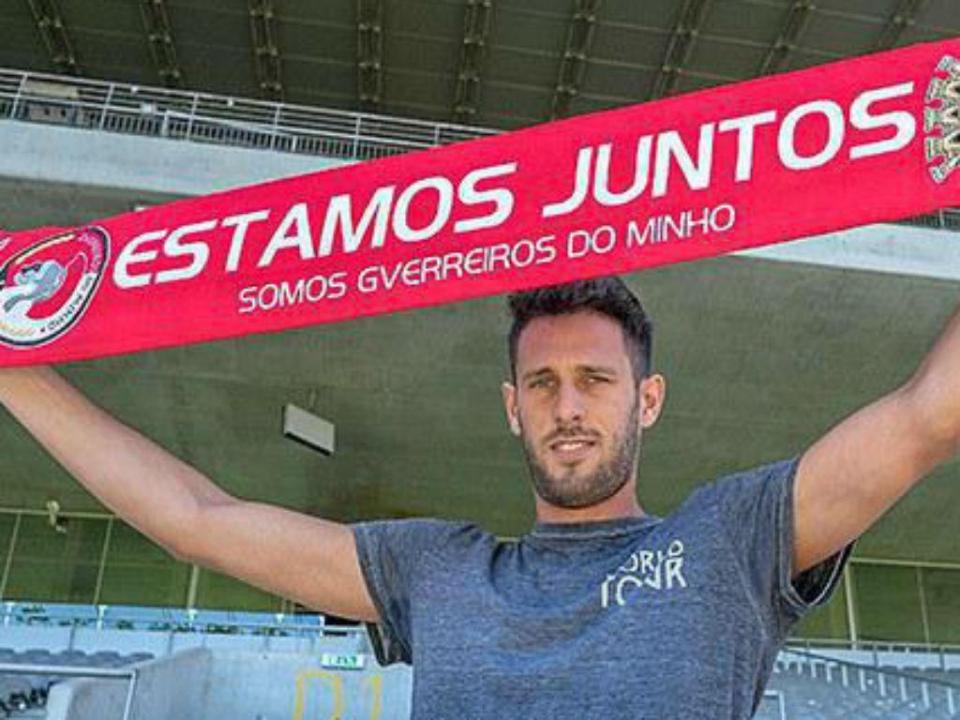 Sp. Braga foi buscar Ricardo Ferreira ao Paços