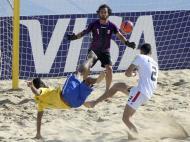 Mundial de Futebol de Praia: Brasil-Irão (Estela Silva/Lusa)