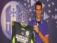 Mauro Goicoechea oficializado no Toulouse (foto Toulouse FC)