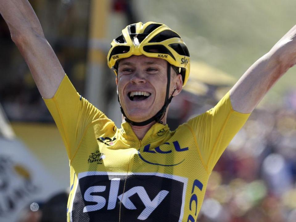Ciclismo: Froome lidera Sky no Giro, apesar da suspeita de doping