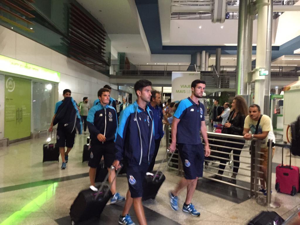 FC Porto regressou à Invicta depois do estágio na Holanda