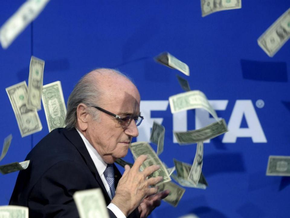 Crise de stress obriga Blatter a exames médicos