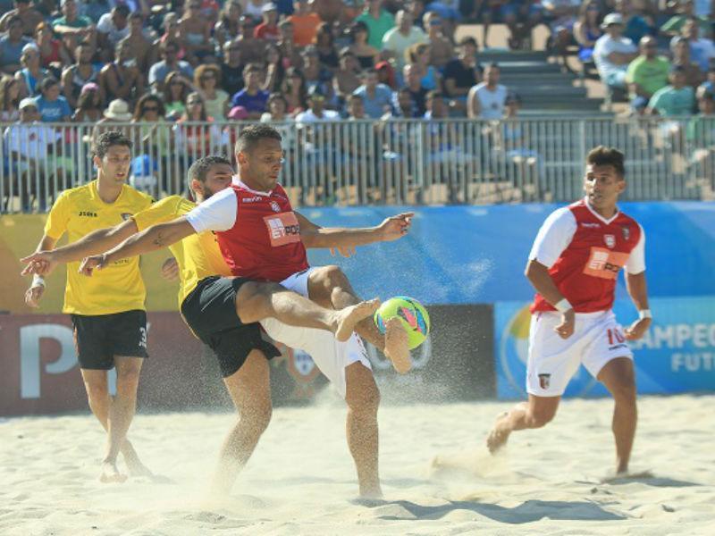Futebol de praia: Sp. Braga contrata quatro campeões do mundo