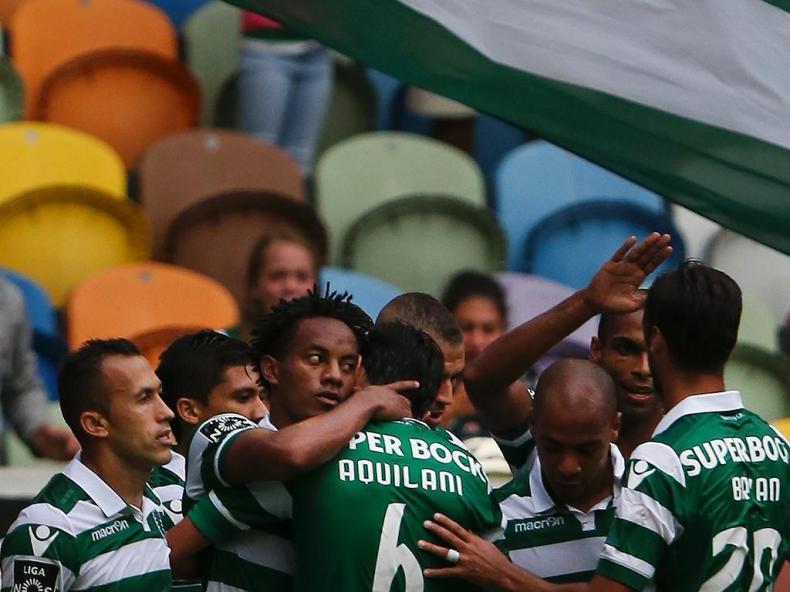 Sporting-Paços de Ferreira (LUSA/ Mário Cruz)