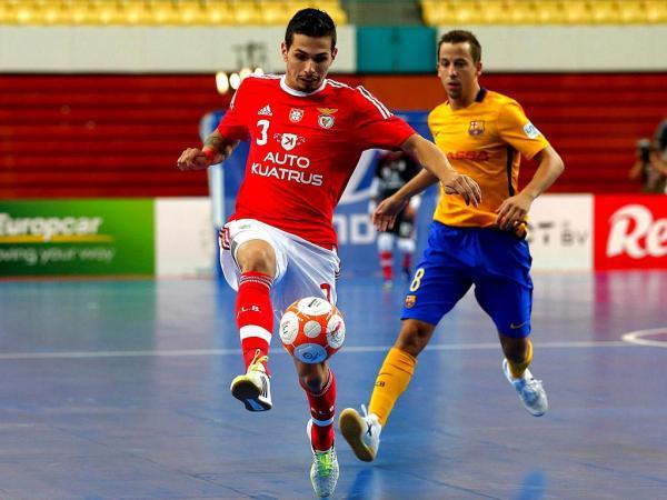 Futsal: Benfica vence no pavilhão do Fundão