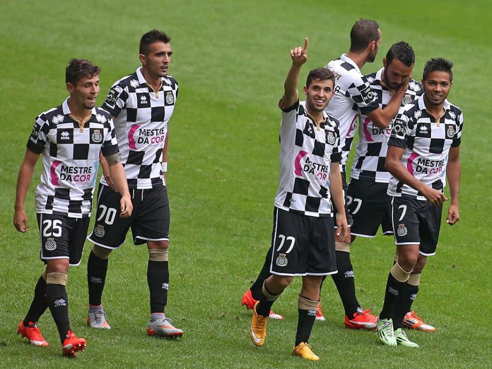 Boavista-Tondela, 1-0 (resultado final)