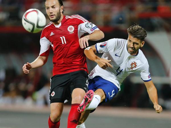 Albânia-Portugal, 0-1 (resultado final)
