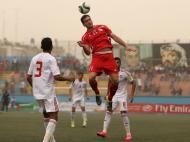 Jogo Palestina-Arábia Saudita (foto Reuters)