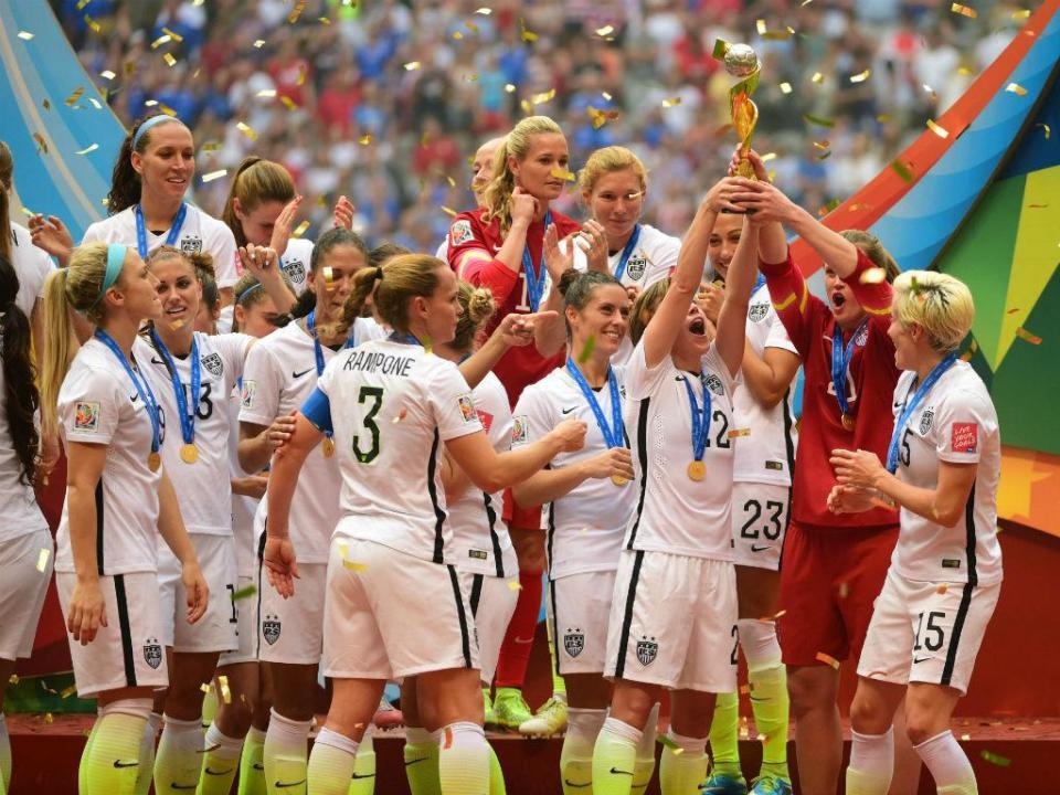Seleção feminina dos Estados Unidos processa federação