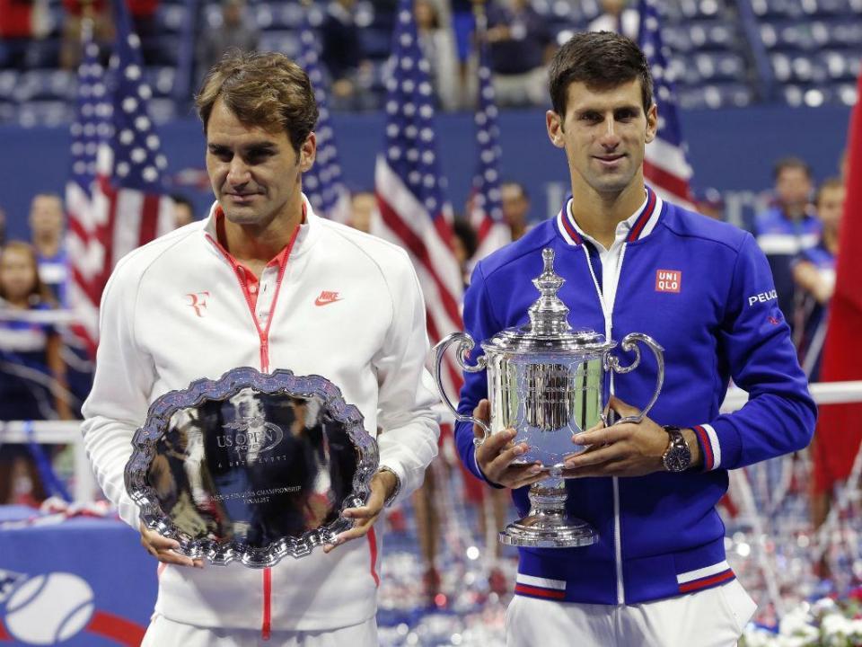 Djokovic defronta Federer na fase de grupos do Masters de ténis