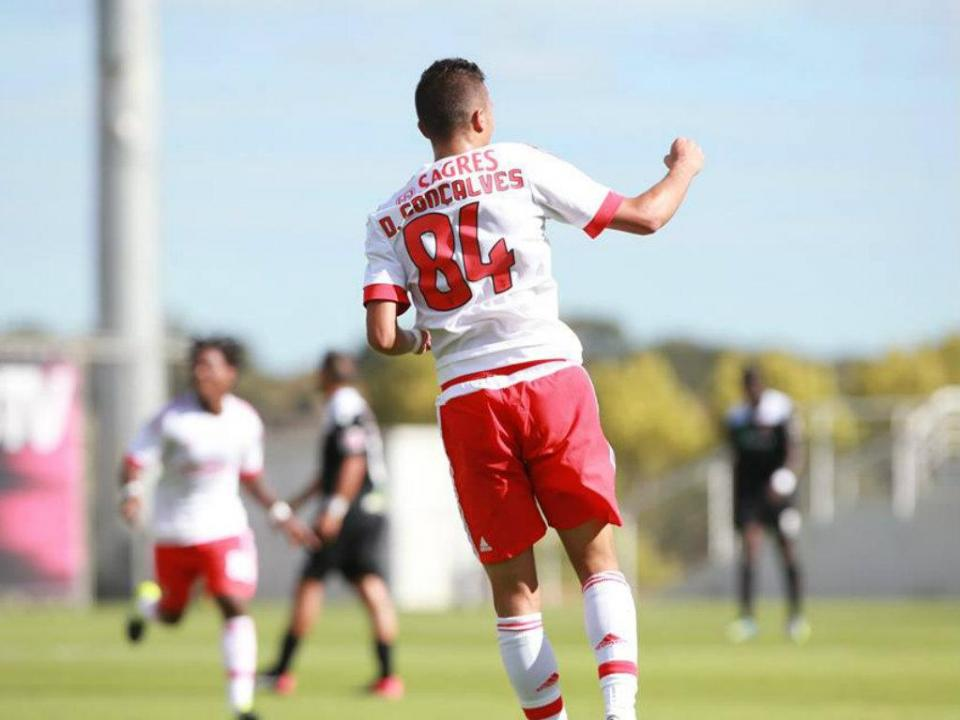 Benfica B: primeiro golo de Filipe Ferreira garante vitória