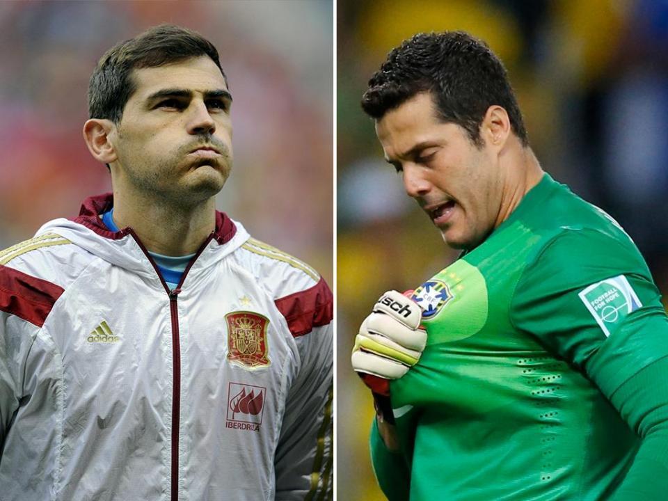 5d590d8a0 Casillas-Júlio César  se juntam as taças na baliza o clássico acaba 0-0