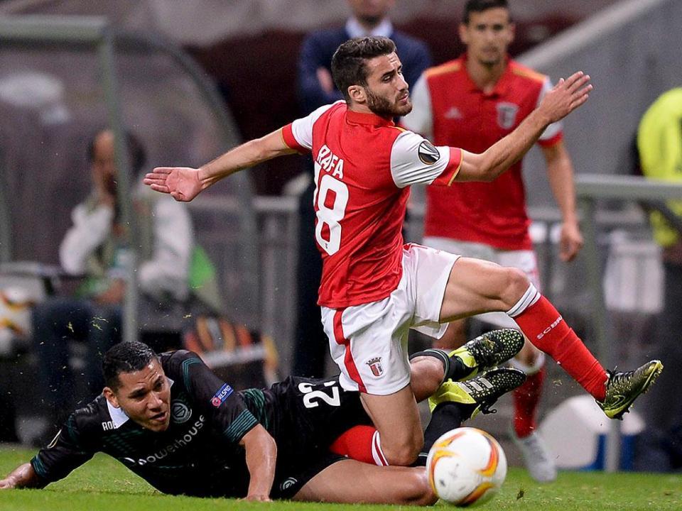 Sp. Braga: André Pinto, Arghus e Vukcevic ausentes do treino