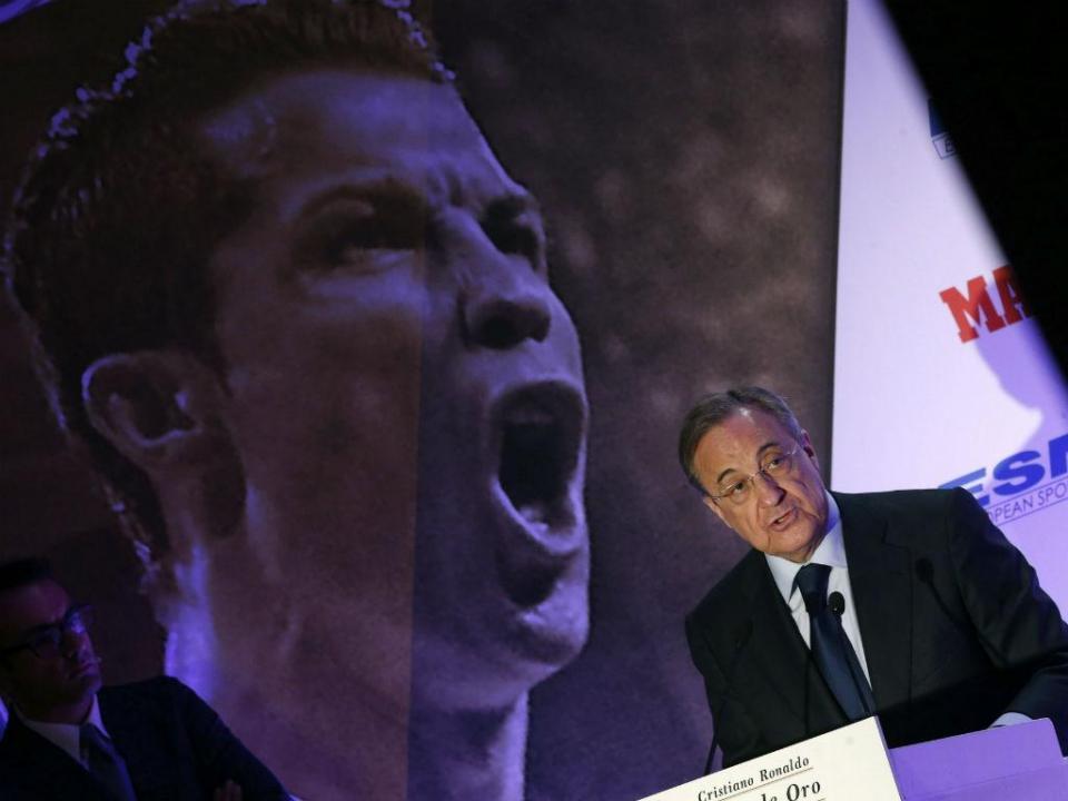 Florentino Pérez: «Neymar? Vou pensar e depois respondo»
