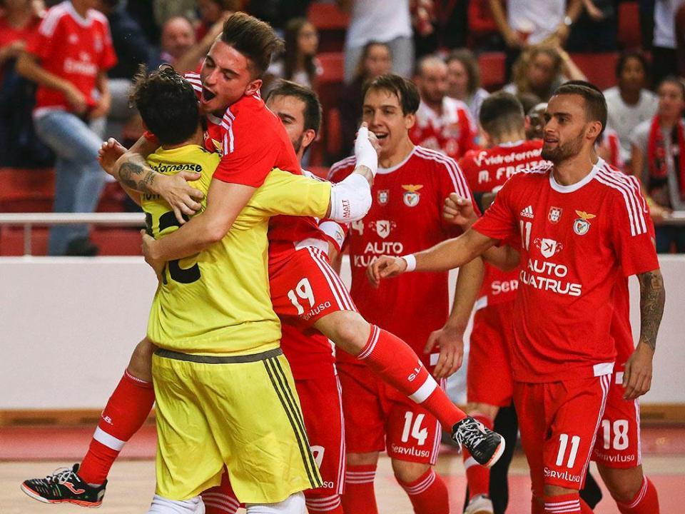 UEFA Futsal Cup: Benfica na final four a dois segundos do fim