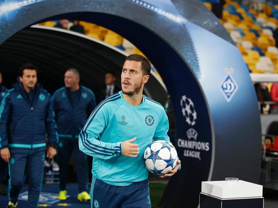 Chelsea despede-se de Hazard com vídeo dos momentos divertidos
