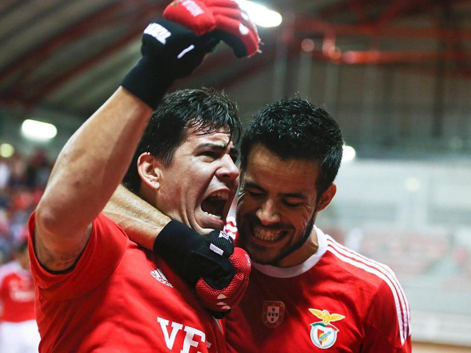 Benfica goleia Candelária por 13-1