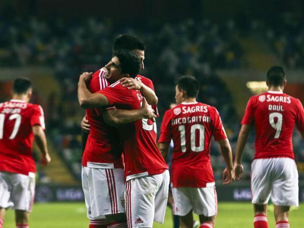 Tondela-Benfica, 0-4 (resultado final)