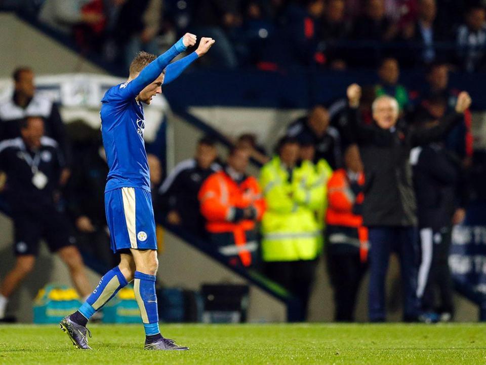 Jamie Vardy: o melhor de outubro na Premier League
