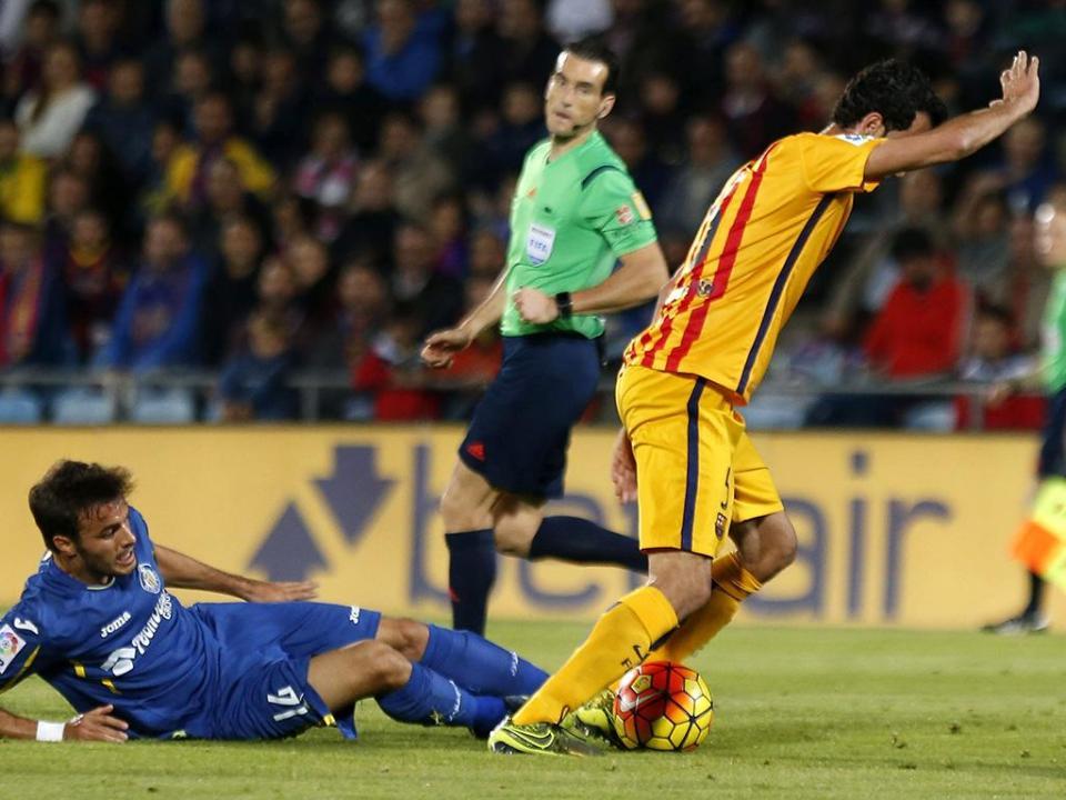 VÍDEO: Barcelona vence em Getafe, Sergi Roberto brilha
