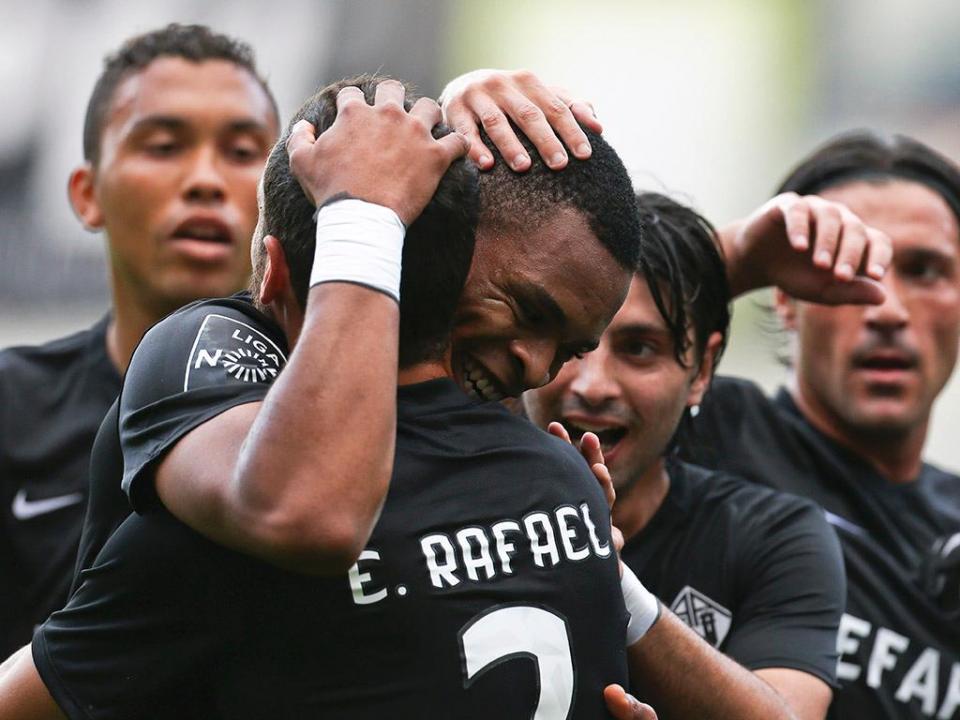 Académica-Moreirense, 1-1 (resultado final)