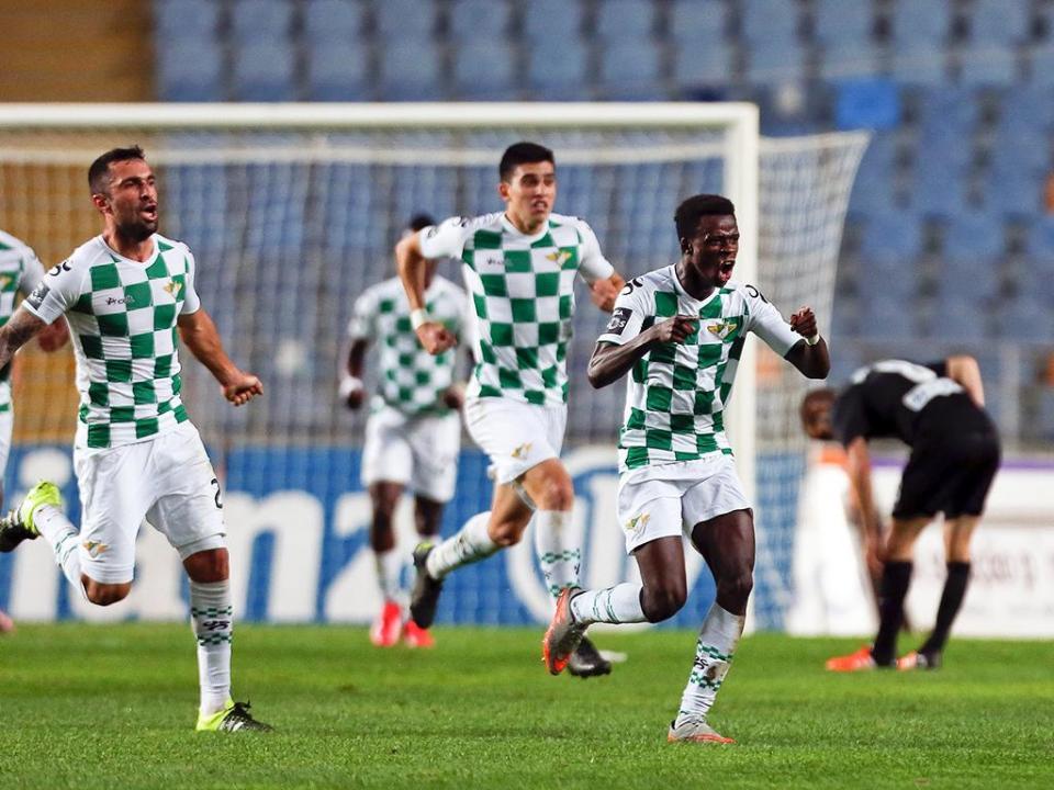 Moreirense venceu (4-1) Tirsense em jogo treino