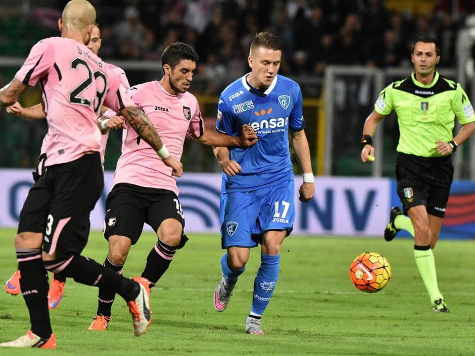 Itália: Mário Rui na vitória do Empoli sobre o Palermo