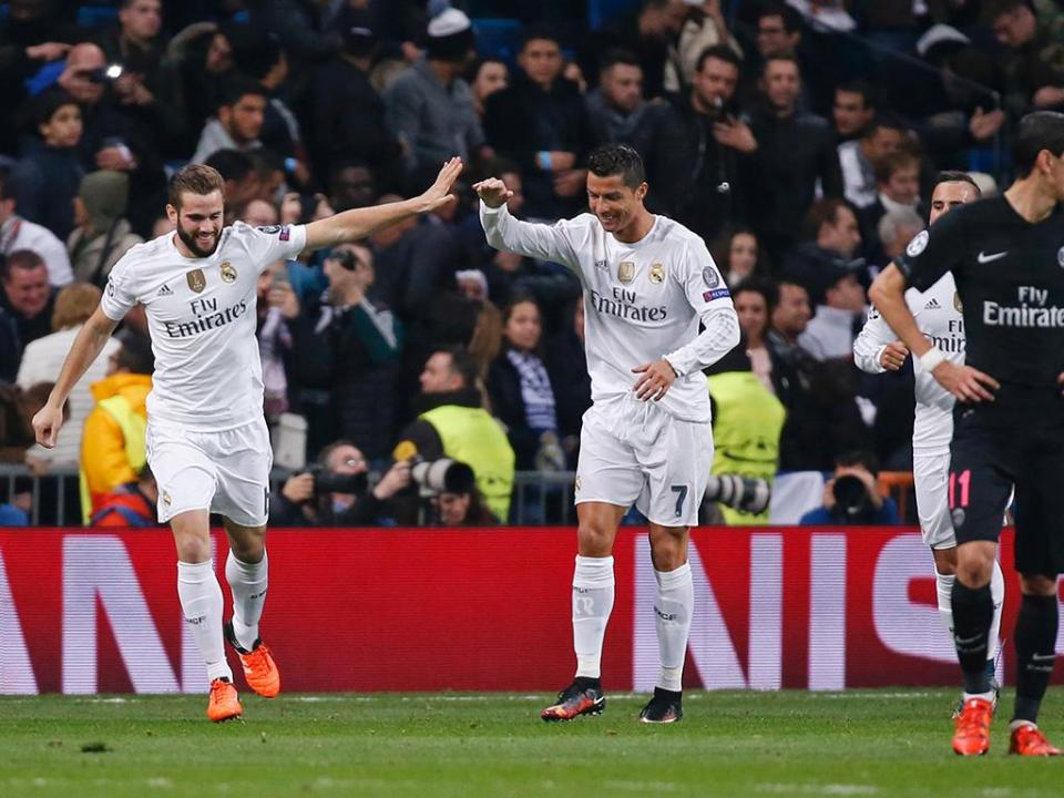 LC, Grupo A: Real Madrid nos oitavos e com recorde