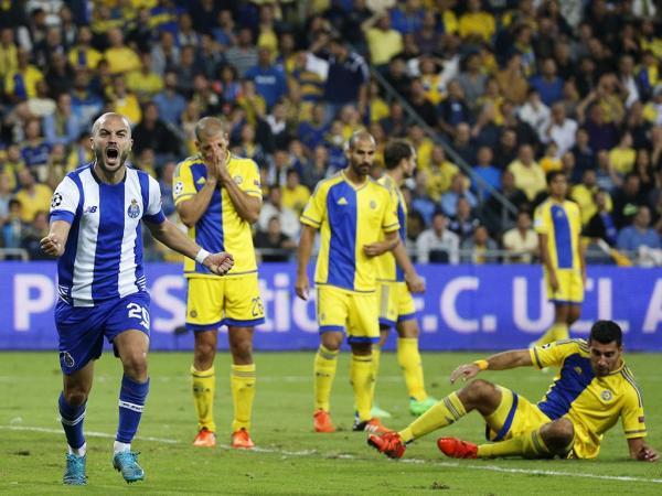 LC: Maccabi Telavive-FC Porto, 1-3 (crónica)