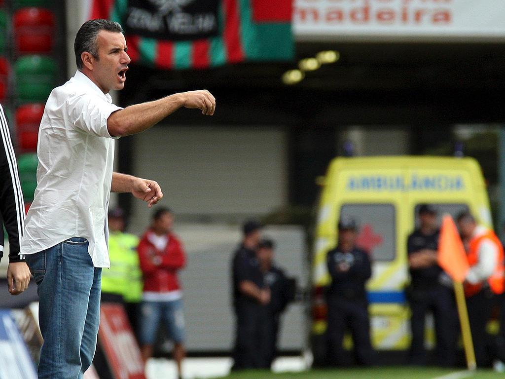 Ivo Vieira: «Nota-se um crescimento nos jogadores do Estoril»