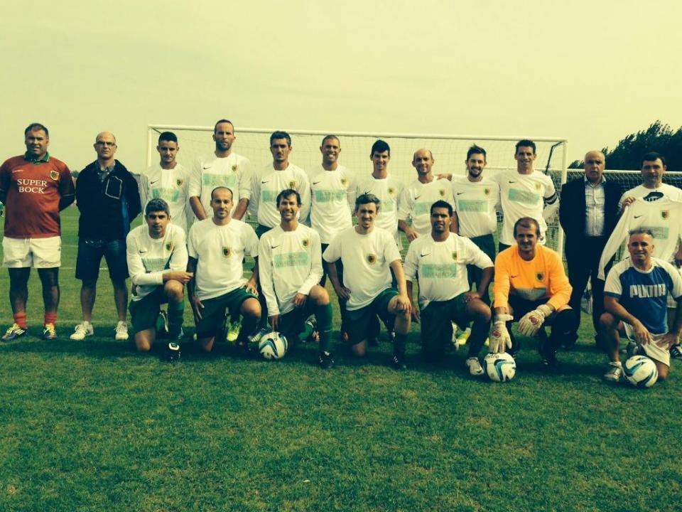 A história do clube português que gera polémica em Jersey