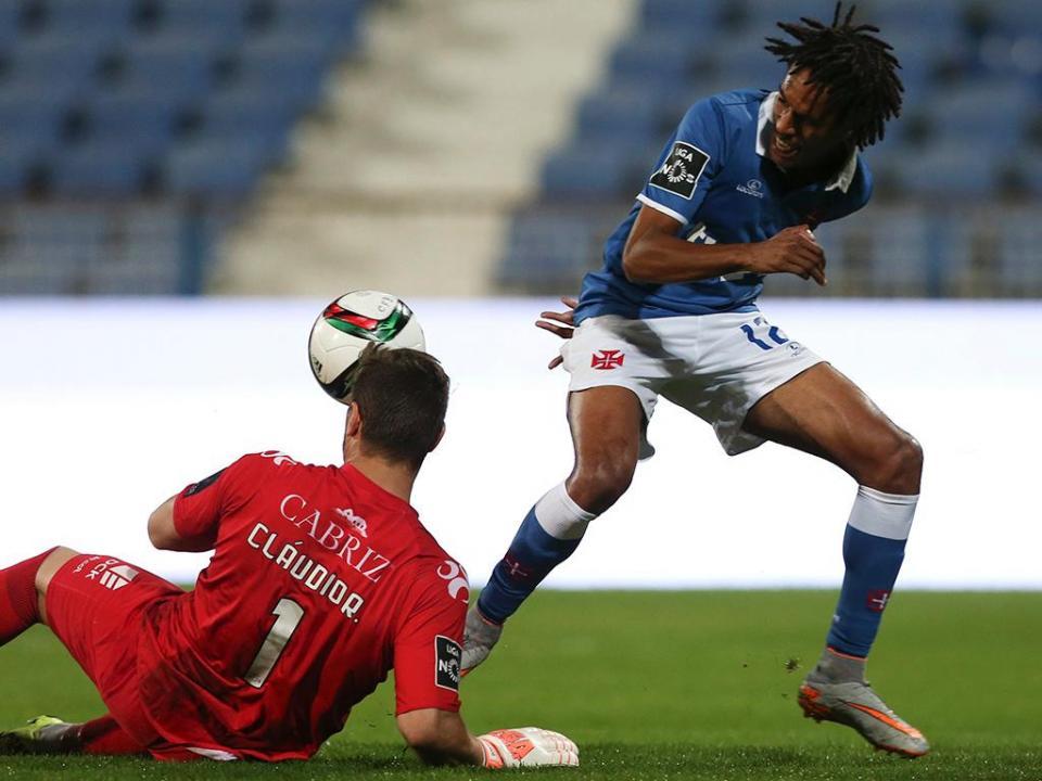 Belenenses-Tondela, 2-1 (resultado final)