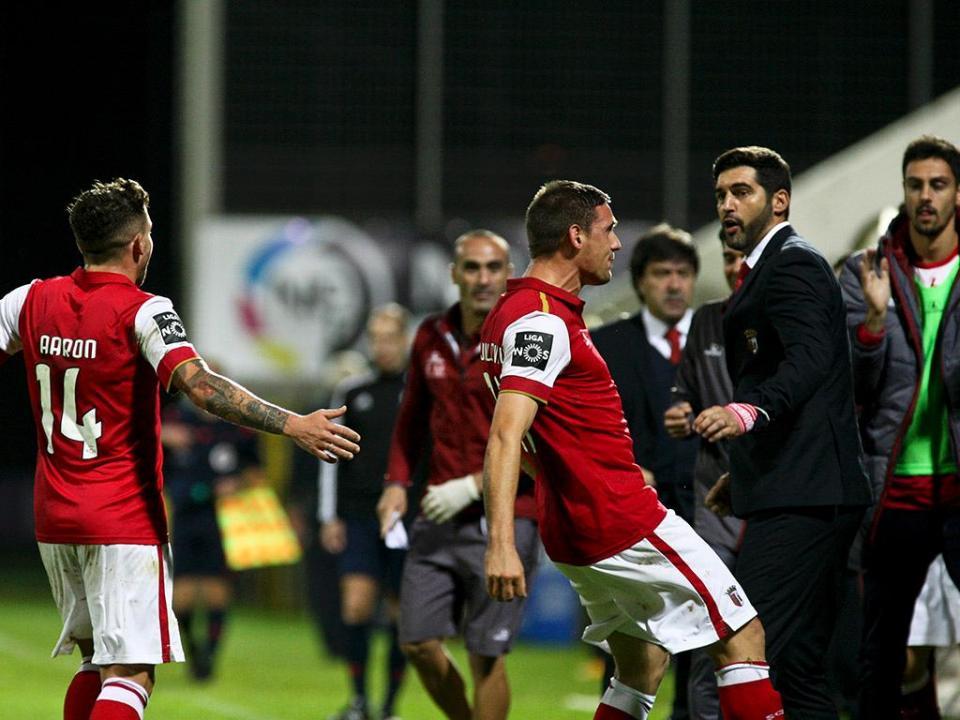 U. Madeira-Sp. Braga, 0-1 (resultado final)
