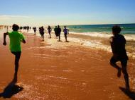 Clube de Bairro: CO Pechão (treino na praia)