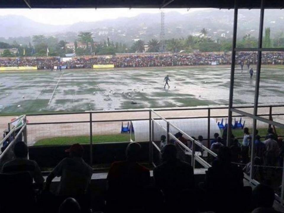 Qualificação Mundial 2018: Burundi e Congo jogaram… numa piscina