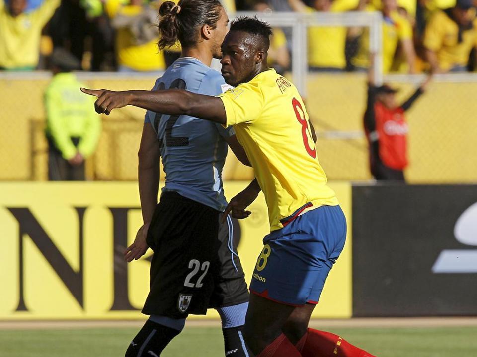 Mundial-2018: Equador bate Uruguai e isola-se na zona sul-americana